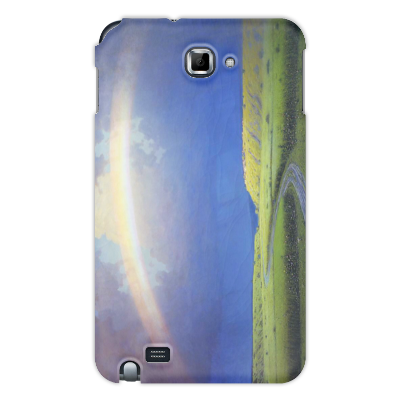 Фото - Printio Чехол для Samsung Galaxy Note Радуга (картина архипа куинджи) printio тетрадь на скрепке берёзовая роща картина архипа куинджи