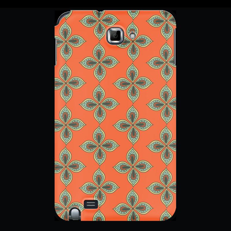Printio Чехол для Samsung Galaxy Note Цветочный чехол