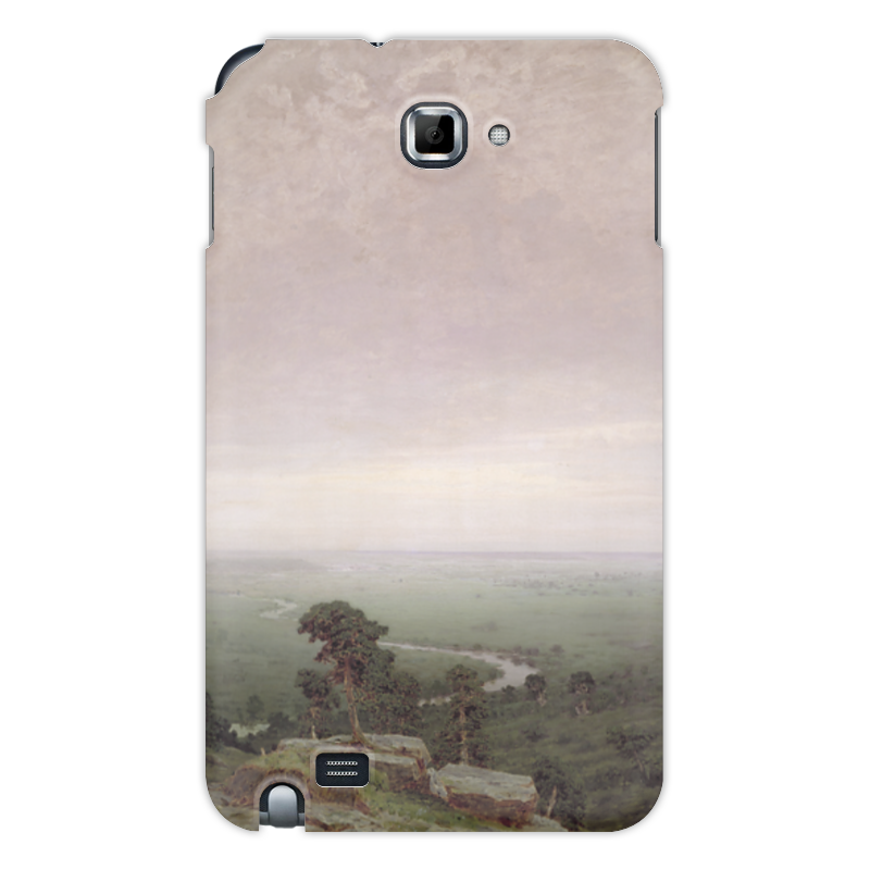 Фото - Printio Чехол для Samsung Galaxy Note Север (картина архипа куинджи) printio тетрадь на скрепке берёзовая роща картина архипа куинджи