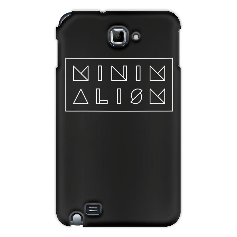 Printio Чехол для Samsung Galaxy Note Минимализм