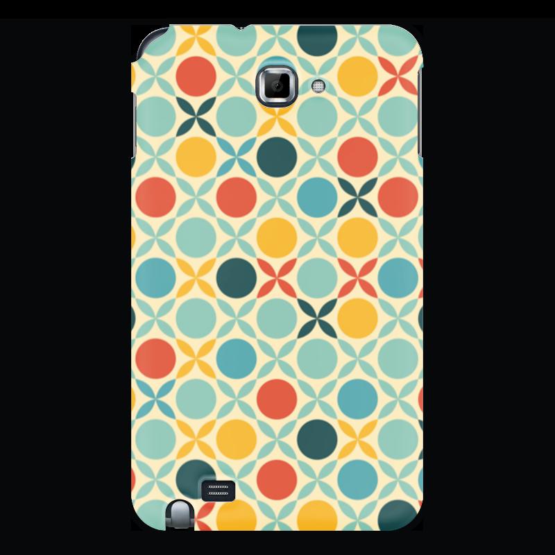 Printio Чехол для Samsung Galaxy Note Абстрактный чехол
