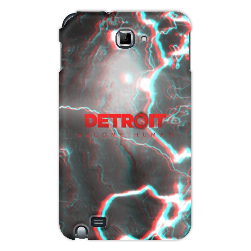 Printio Чехол для Samsung Galaxy Note Detroit become human чехол
