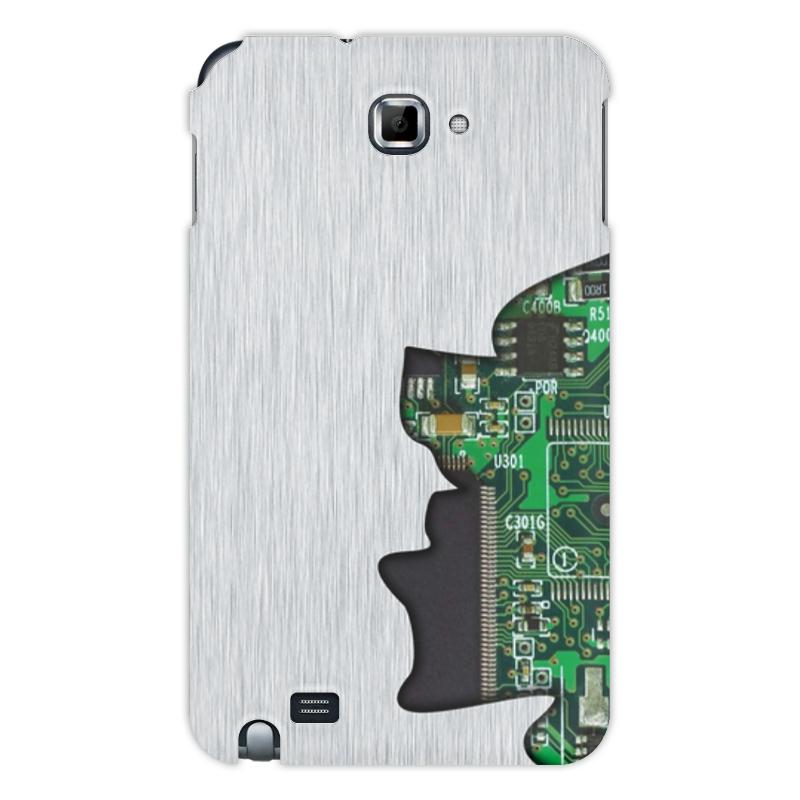Printio Чехол для Samsung Galaxy Note Внутренний мир телефона (микросхема).