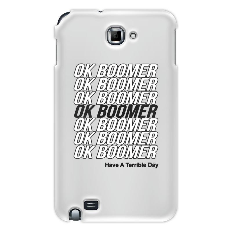 Printio Чехол для Samsung Galaxy Note Ok boomer чехол