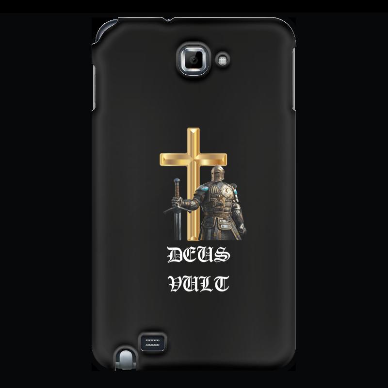 Фото - Printio Чехол для Samsung Galaxy Note Deus vult. крестоносцы printio чехол для samsung galaxy s8 объёмная печать deus vult крестоносцы