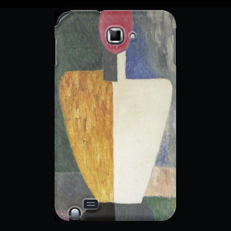 чехол для iphone 8 объёмная печать printio торс фигура с розовым лицом малевич Printio Чехол для Samsung Galaxy Note Торс (фигура с розовым лицом) (малевич)