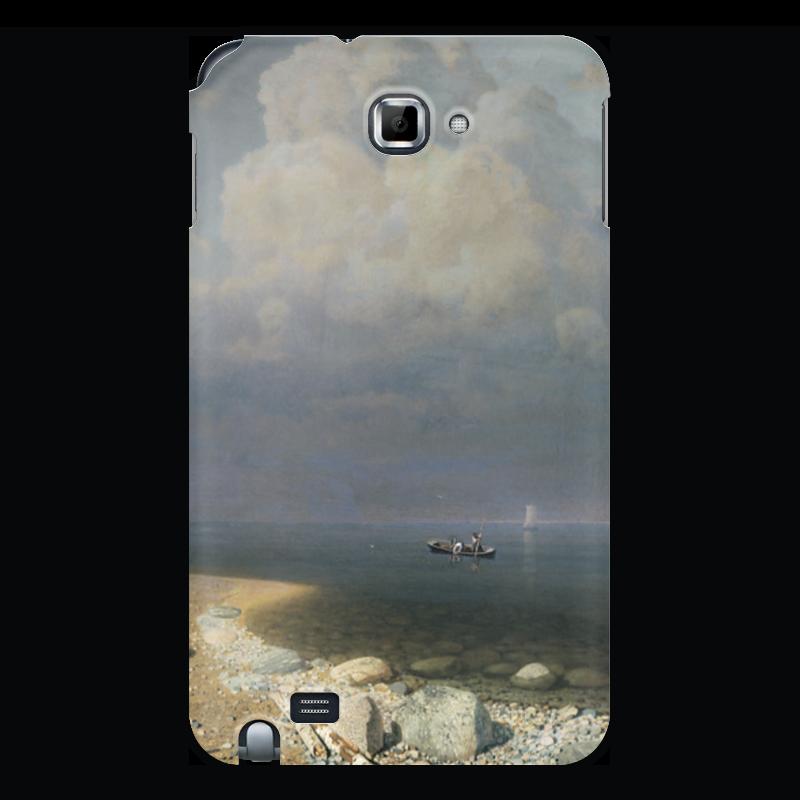 Фото - Printio Чехол для Samsung Galaxy Note Ладожское озеро (картина архипа куинджи) printio тетрадь на скрепке берёзовая роща картина архипа куинджи