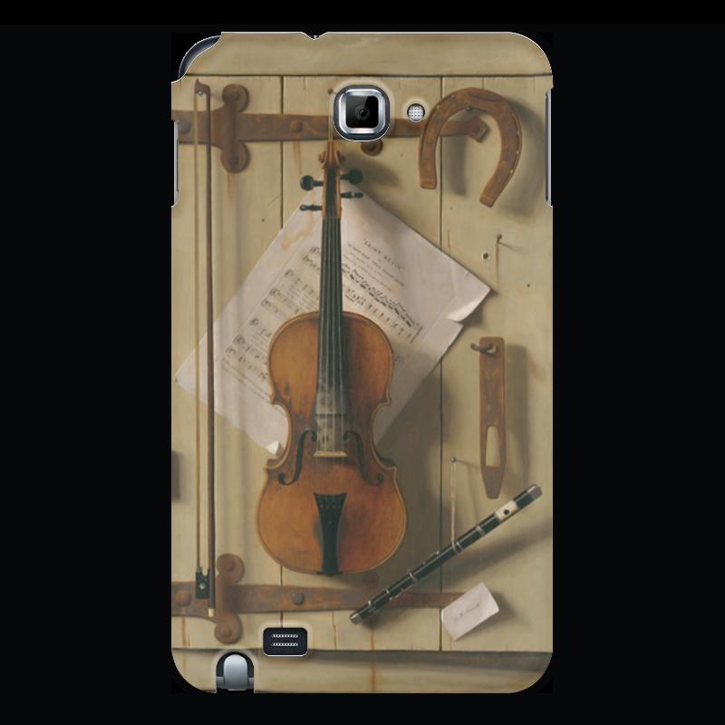 Printio Чехол для Samsung Galaxy Note Натюрморт со скрипкой (уильям харнетт)