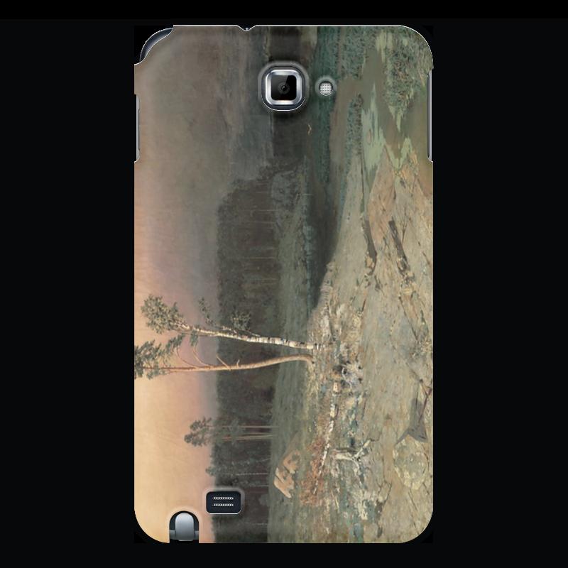 Фото - Printio Чехол для Samsung Galaxy Note На острове валааме (картина архипа куинджи) printio тетрадь на скрепке берёзовая роща картина архипа куинджи