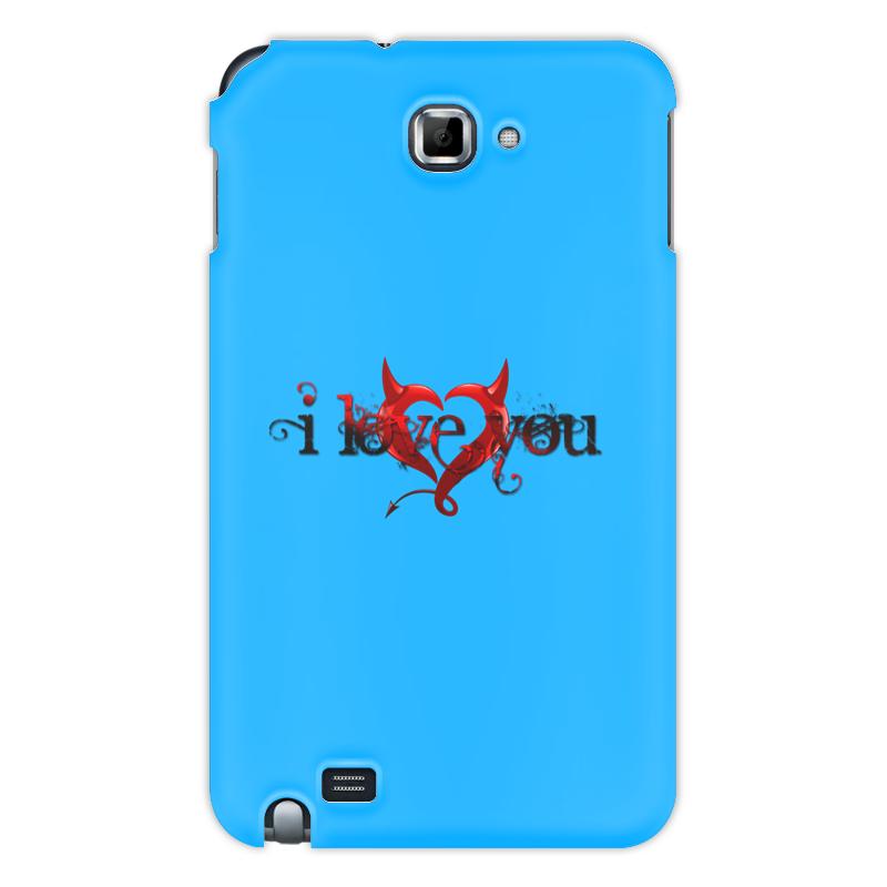 Printio Чехол для Samsung Galaxy Note I love you чехол