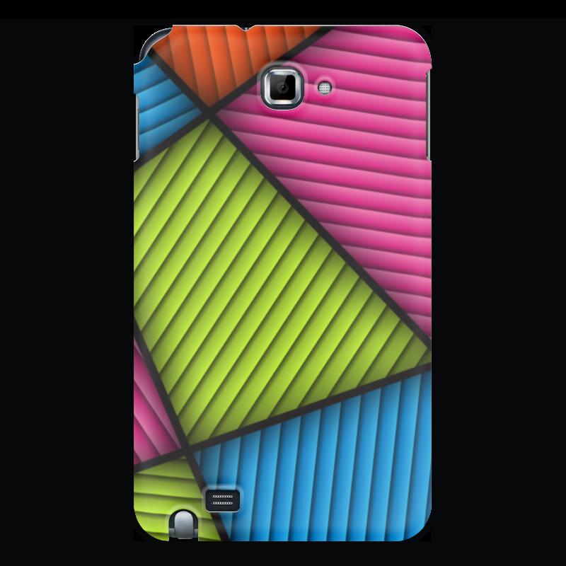 Фото - Printio Чехол для Samsung Galaxy Note Цветная абстракция printio чехол для samsung galaxy note fluxx