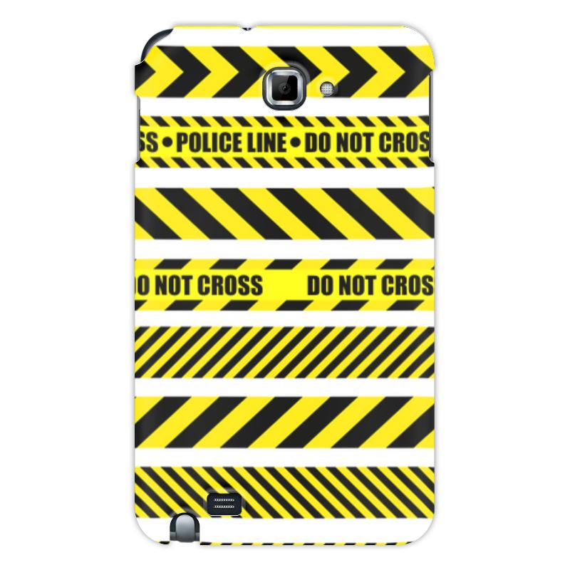 Printio Чехол для Samsung Galaxy Note Police line чехол