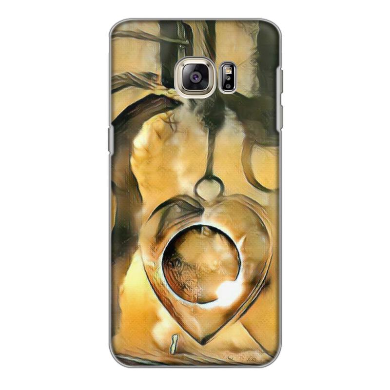 Фото - Printio Чехол для Samsung Galaxy S6 Edge, объёмная печать The moon in your heart printio чехол для samsung galaxy s6 edge объёмная печать клубничное настроение