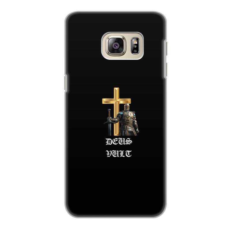 Фото - Printio Чехол для Samsung Galaxy S6 Edge, объёмная печать Deus vult. крестоносцы printio чехол для samsung galaxy s8 объёмная печать deus vult крестоносцы
