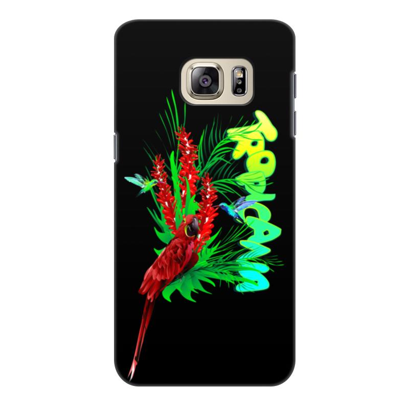 Фото - Printio Чехол для Samsung Galaxy S6 Edge, объёмная печать Tropicana. printio чехол для samsung galaxy s6 edge объёмная печать клубничное настроение