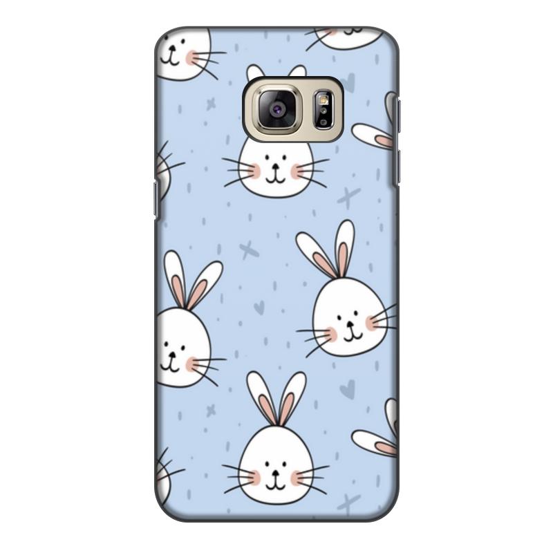 Printio Чехол для Samsung Galaxy S6 Edge, объёмная печать Милый кролик printio чехол для samsung galaxy s6 edge объёмная печать свинка