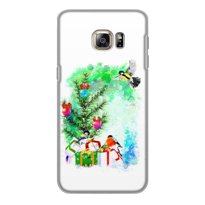 Фото - Printio Чехол для Samsung Galaxy S6 Edge, объёмная печать Новогоднее настроение. printio чехол для samsung galaxy s6 edge объёмная печать клубничное настроение