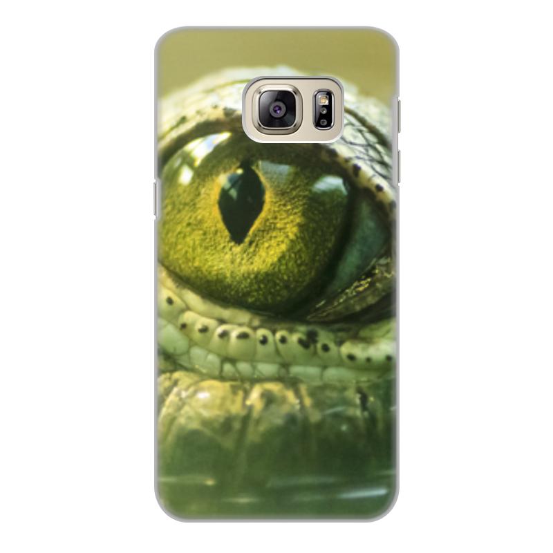 Printio Чехол для Samsung Galaxy S6 Edge, объёмная печать Рептилии