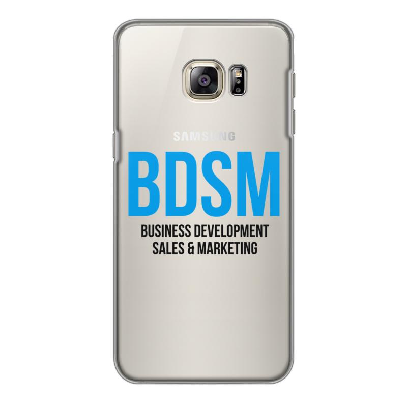 Printio Чехол для Samsung Galaxy S6 Edge, объёмная печать Bdsm - business development, sales & marketing printio чехол для samsung galaxy s6 edge объёмная печать свинка