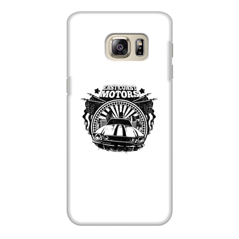 Printio Чехол для Samsung Galaxy S6 Edge, объёмная печать East coast motors printio чехол для iphone 6 объёмная печать east coast motors