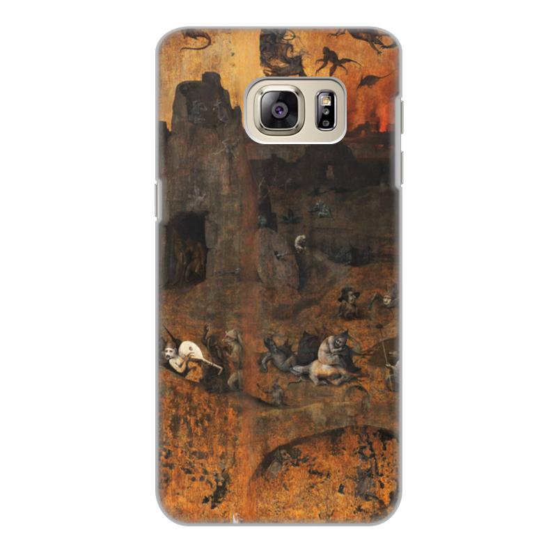 Фото - Printio Чехол для Samsung Galaxy S6 Edge, объёмная печать Ад (ад и потоп (створки алтаря иеронима босха)) printio чехол для samsung galaxy s8 plus объёмная печать ад ад и потоп створки алтаря иеронима босха