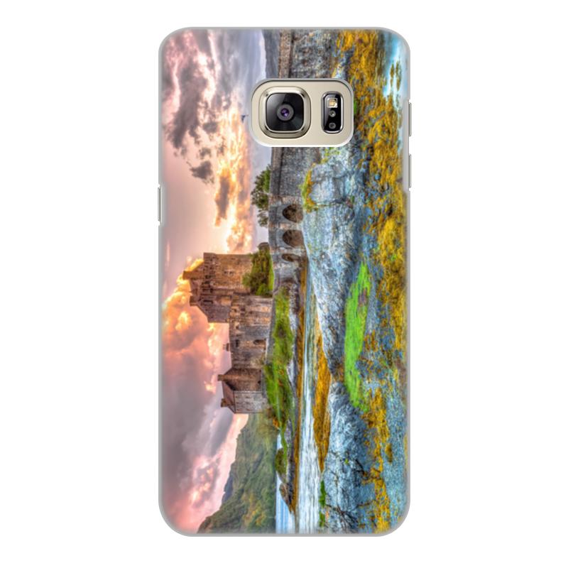 Фото - Printio Чехол для Samsung Galaxy S6 Edge, объёмная печать Замок в шотландии набор полесье замок башня замок стена с двумя башнями замок мост 37251
