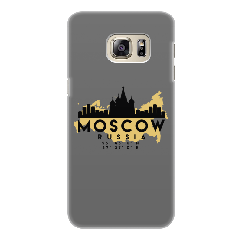 Printio Чехол для Samsung Galaxy S6 Edge, объёмная печать Москва (россия)