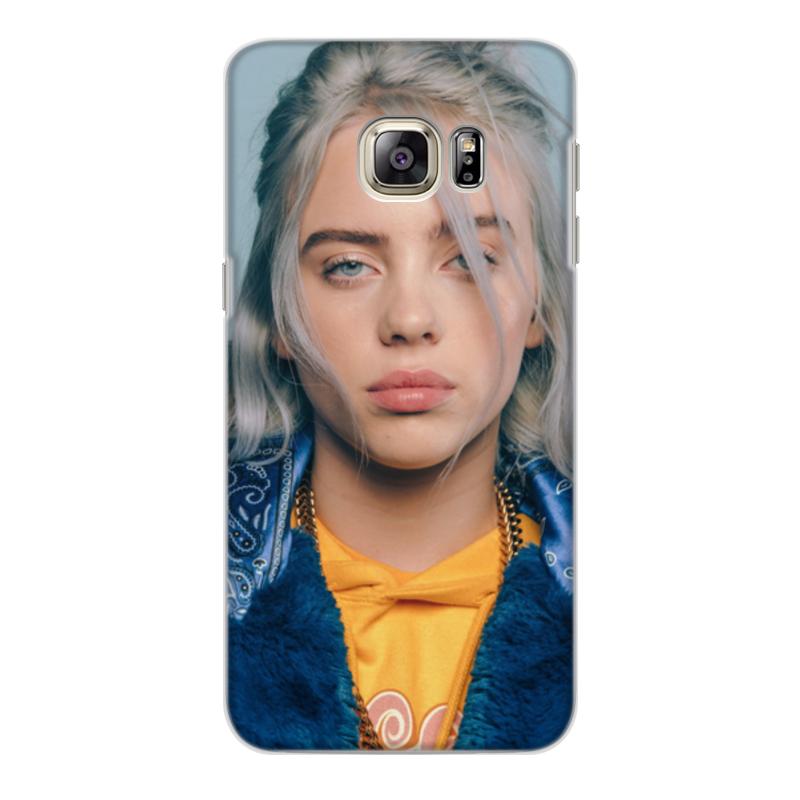 Фото - Printio Чехол для Samsung Galaxy S6 Edge, объёмная печать billie eilish printio чехол для samsung galaxy s6 edge объёмная печать клубничное настроение