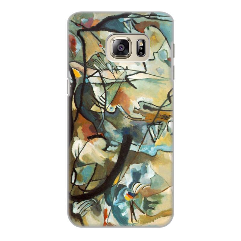 Printio Чехол для Samsung Galaxy S6 Edge, объёмная печать Композиция v (василий кандинский) printio чехол для samsung galaxy s7 edge объёмная печать композиция v василий кандинский