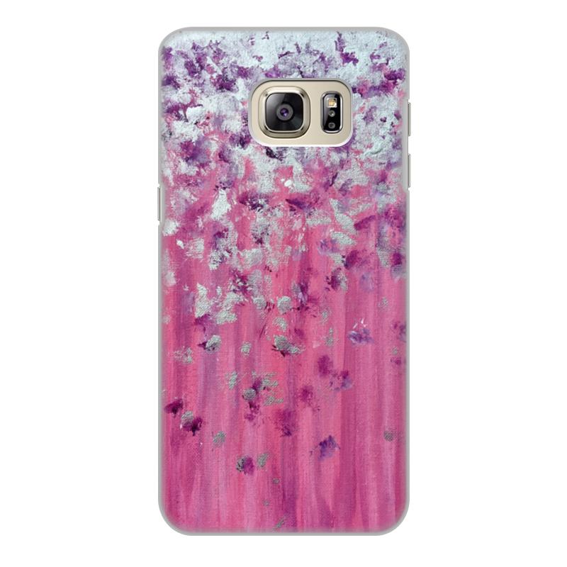 Фото - Printio Чехол для Samsung Galaxy S6 Edge, объёмная печать Розовое настроение printio чехол для samsung galaxy s6 edge объёмная печать клубничное настроение