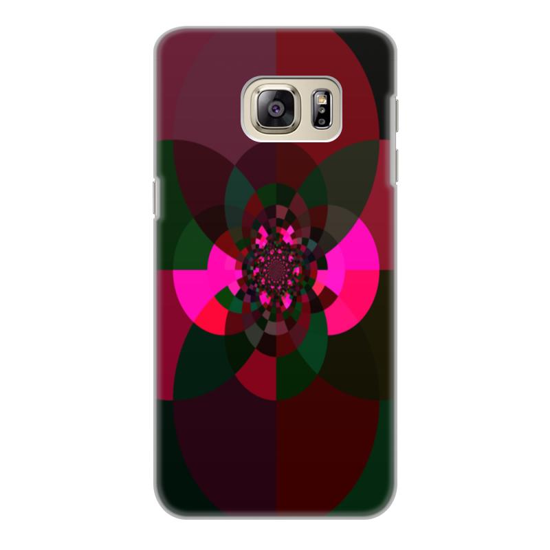 Фото - Printio Чехол для Samsung Galaxy S6 Edge, объёмная печать Калейдоскоп из кругов printio чехол для samsung galaxy s6 edge объёмная печать клубничное настроение