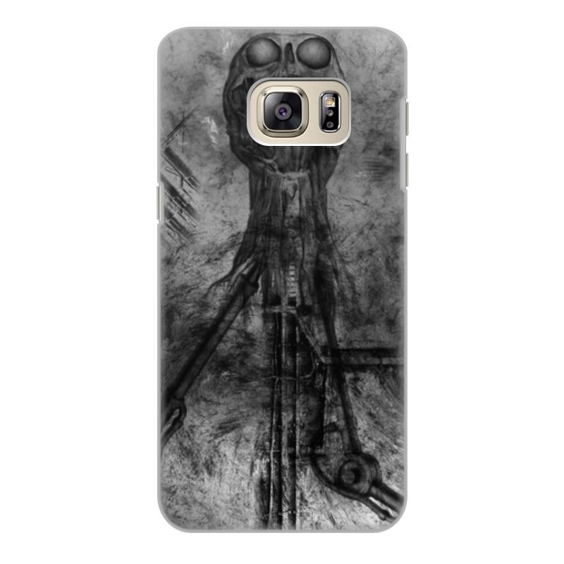 Фото - Printio Чехол для Samsung Galaxy S6 Edge, объёмная печать Биомеханика printio чехол для samsung galaxy s6 edge объёмная печать клубничное настроение