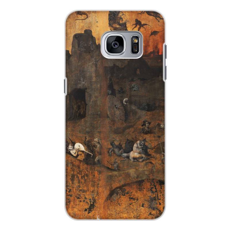 Фото - Printio Чехол для Samsung Galaxy S7, объёмная печать Ад (ад и потоп (створки алтаря иеронима босха)) printio чехол для samsung galaxy s8 plus объёмная печать ад ад и потоп створки алтаря иеронима босха