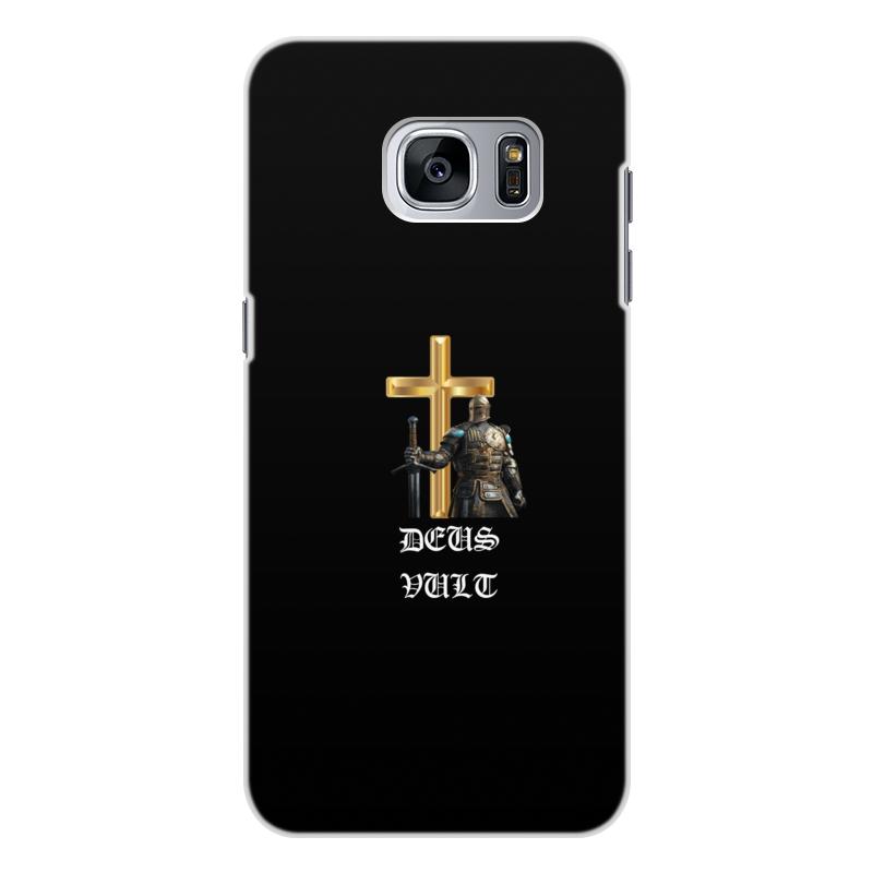 Фото - Printio Чехол для Samsung Galaxy S7, объёмная печать Deus vult. крестоносцы printio чехол для samsung galaxy s8 объёмная печать deus vult крестоносцы