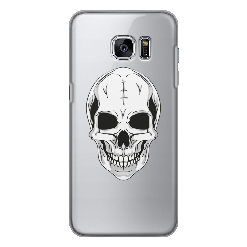 Printio Чехол для Samsung Galaxy S7, объёмная печать Череп