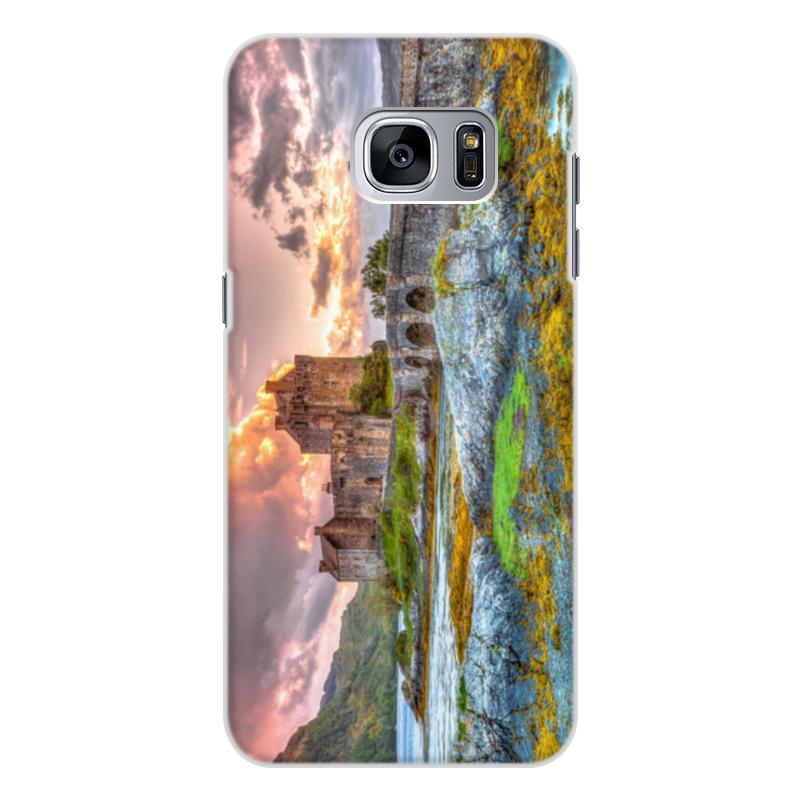 Фото - Printio Чехол для Samsung Galaxy S7, объёмная печать Замок в шотландии набор полесье замок башня замок стена с двумя башнями замок мост 37251