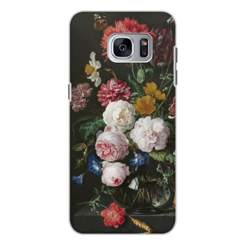Printio Чехол для Samsung Galaxy S7, объёмная печать Цветочный букет в стеклянной вазе (ян де хем)