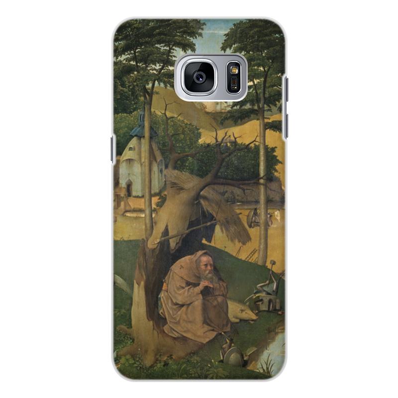 Фото - Printio Чехол для Samsung Galaxy S7, объёмная печать Искушение святого антония (картина босха) printio чехол для samsung galaxy s8 plus объёмная печать ад ад и потоп створки алтаря иеронима босха