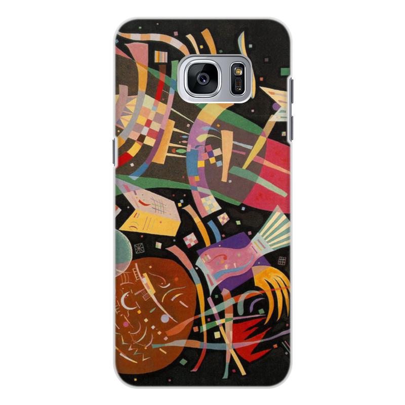 Printio Чехол для Samsung Galaxy S7, объёмная печать Композиция x (василий кандинский) printio чехол для samsung galaxy s7 edge объёмная печать композиция v василий кандинский