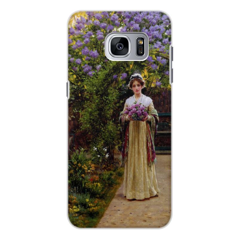 Фото - Printio Чехол для Samsung Galaxy S7, объёмная печать Сирень (эдмунд блэр лейтон) printio чехол для iphone 7 plus объёмная печать сирень эдмунд блэр лейтон