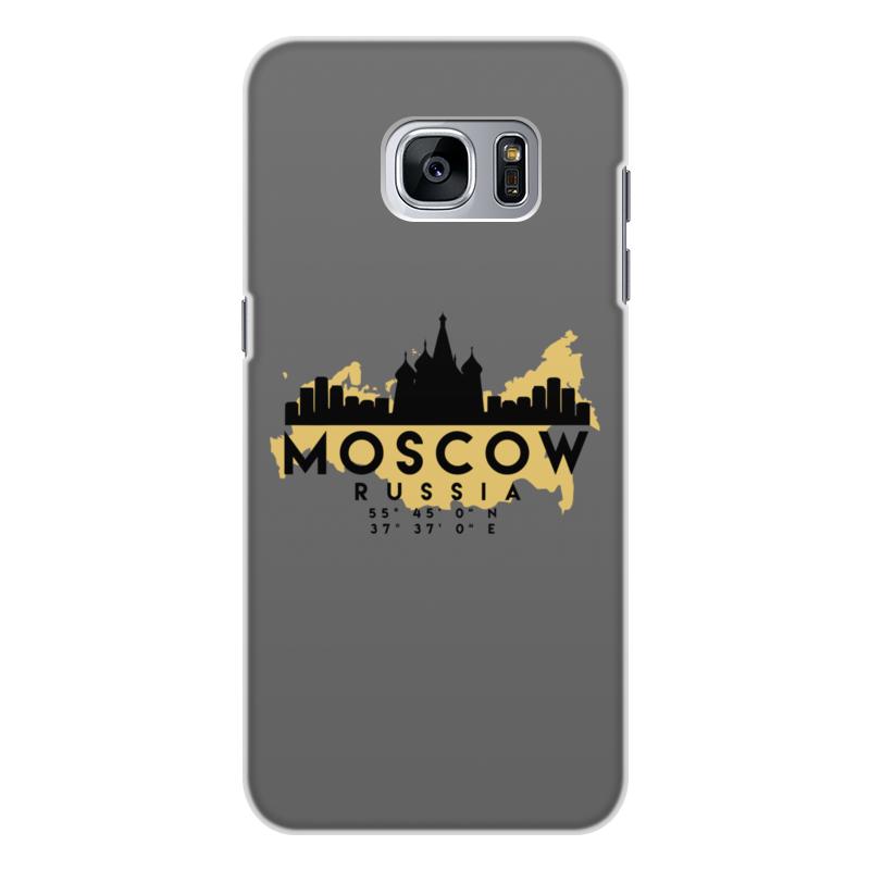 Printio Чехол для Samsung Galaxy S7, объёмная печать Москва (россия)