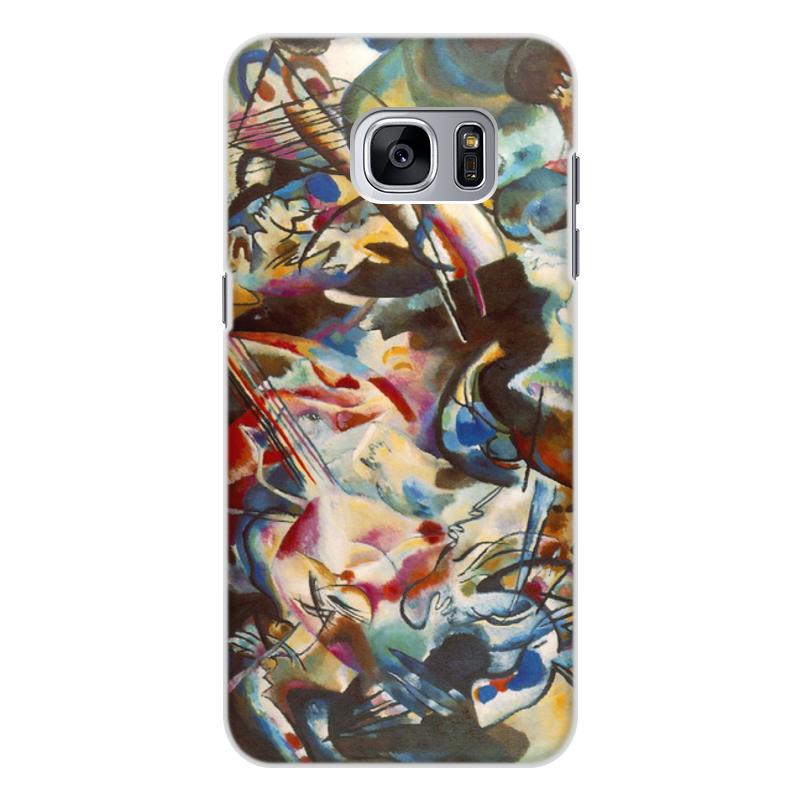Printio Чехол для Samsung Galaxy S7, объёмная печать Композиция vi (василий кандинский) printio чехол для samsung galaxy s7 edge объёмная печать композиция v василий кандинский