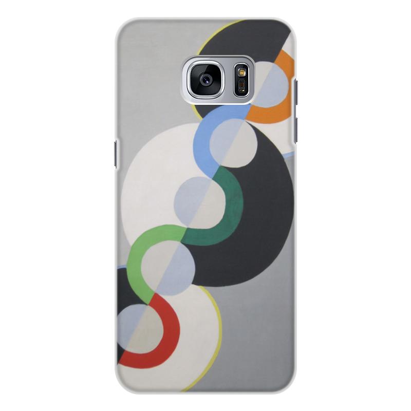 Фото - Printio Чехол для Samsung Galaxy S7, объёмная печать Бесконечный ритм (робер делоне) printio чехол для iphone x xs объёмная печать бесконечный ритм робер делоне