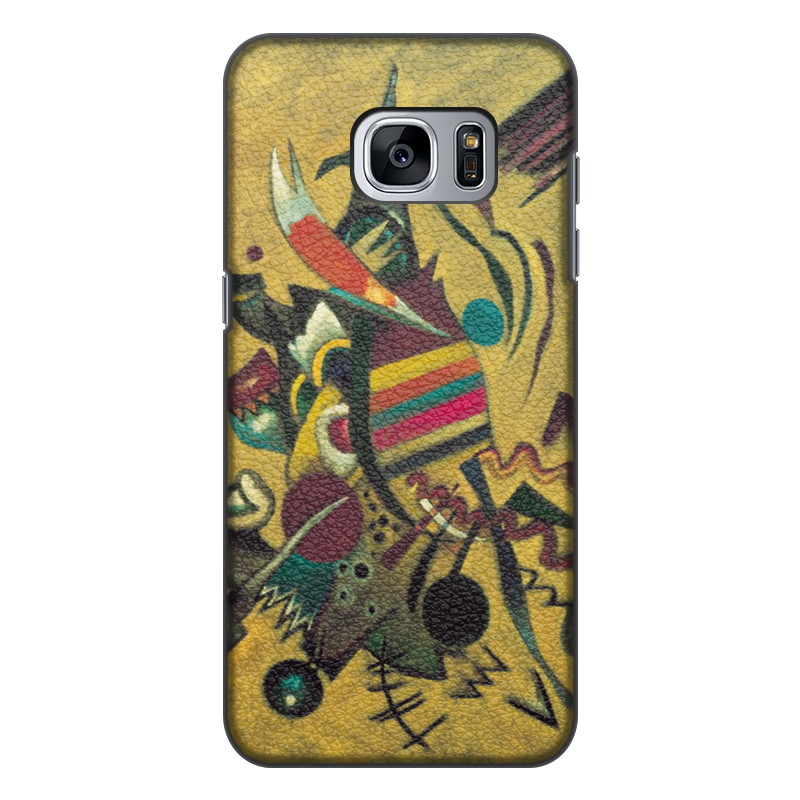 Printio Чехол для Samsung Galaxy S7 Edge, объёмная печать Points (василий кандинский) printio чехол для samsung galaxy s7 edge объёмная печать композиция v василий кандинский