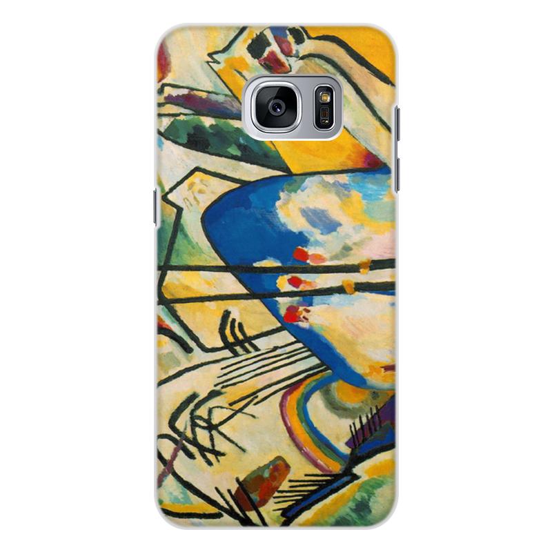 Printio Чехол для Samsung Galaxy S7 Edge, объёмная печать Композиция iv (василий кандинский) printio чехол для samsung galaxy s7 edge объёмная печать композиция v василий кандинский