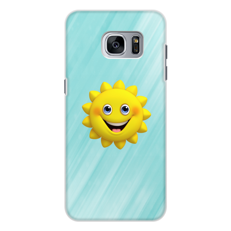 Printio Чехол для Samsung Galaxy S7 Edge, объёмная печать Без названия