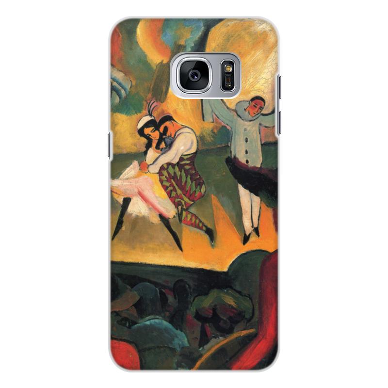 Printio Чехол для Samsung Galaxy S7 Edge, объёмная печать Русский балет (август маке)