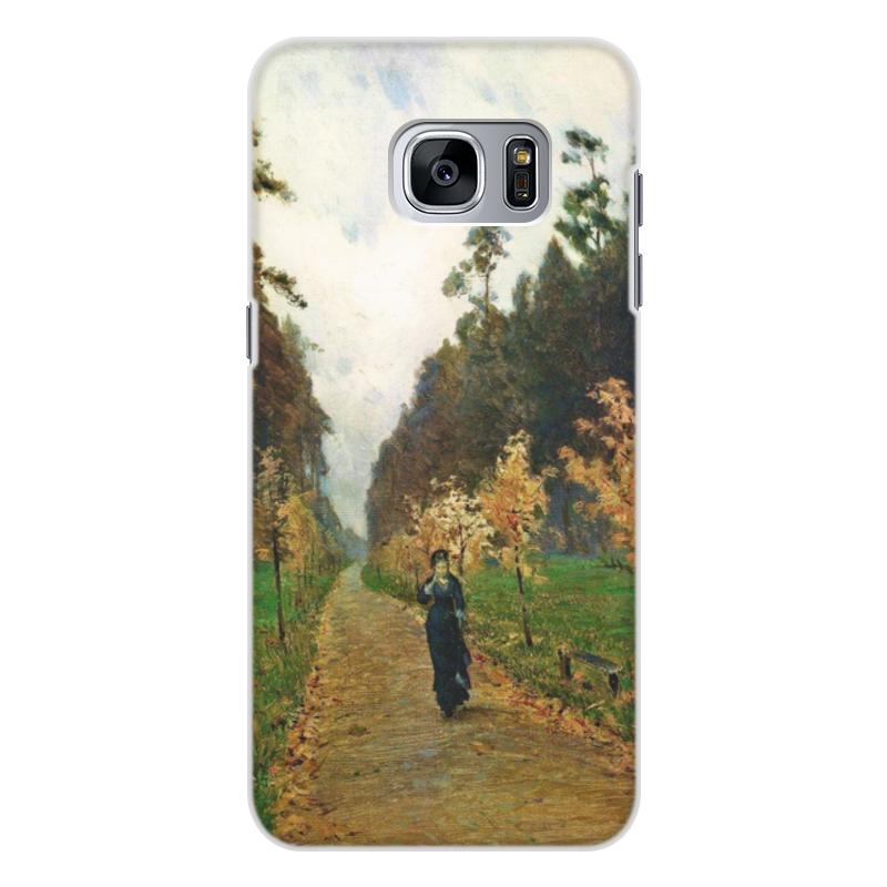 Printio Чехол для Samsung Galaxy S7 Edge, объёмная печать Осенний день. сокольники (левитан)
