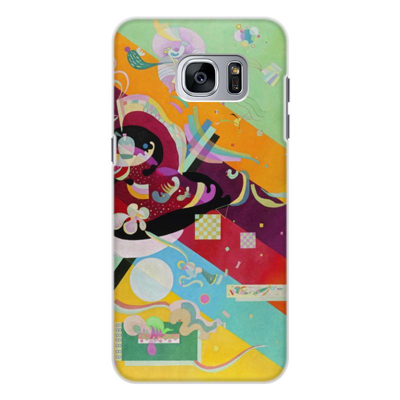 Printio Чехол для Samsung Galaxy S7 Edge, объёмная печать Композиция ix (василий кандинский) printio чехол для samsung galaxy s7 edge объёмная печать композиция v василий кандинский