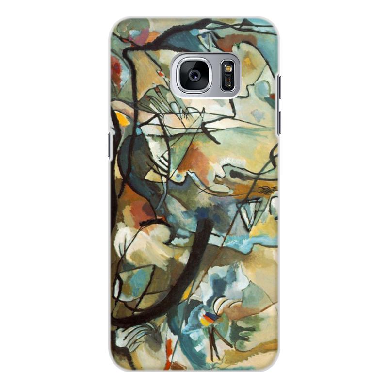 Printio Чехол для Samsung Galaxy S7 Edge, объёмная печать Композиция v (василий кандинский) printio чехол для samsung galaxy s7 edge объёмная печать композиция v василий кандинский